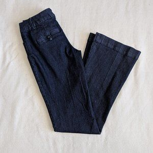 The Limited Fit and Flare Trouser Jeans Size 0
